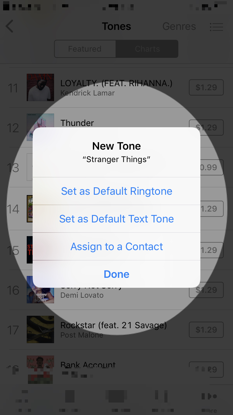 what to do with new iPhone tone