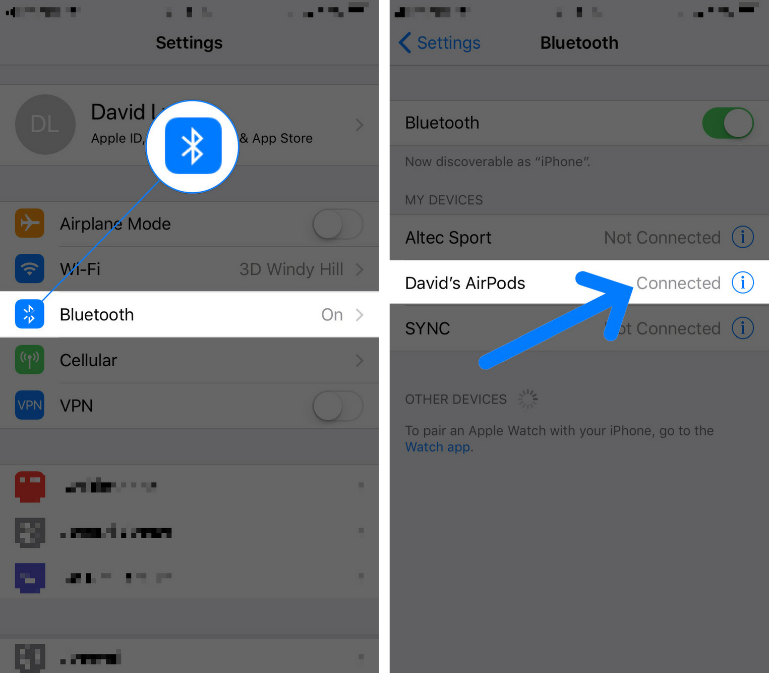 iphone stuck in headphone mode because of bluetooth