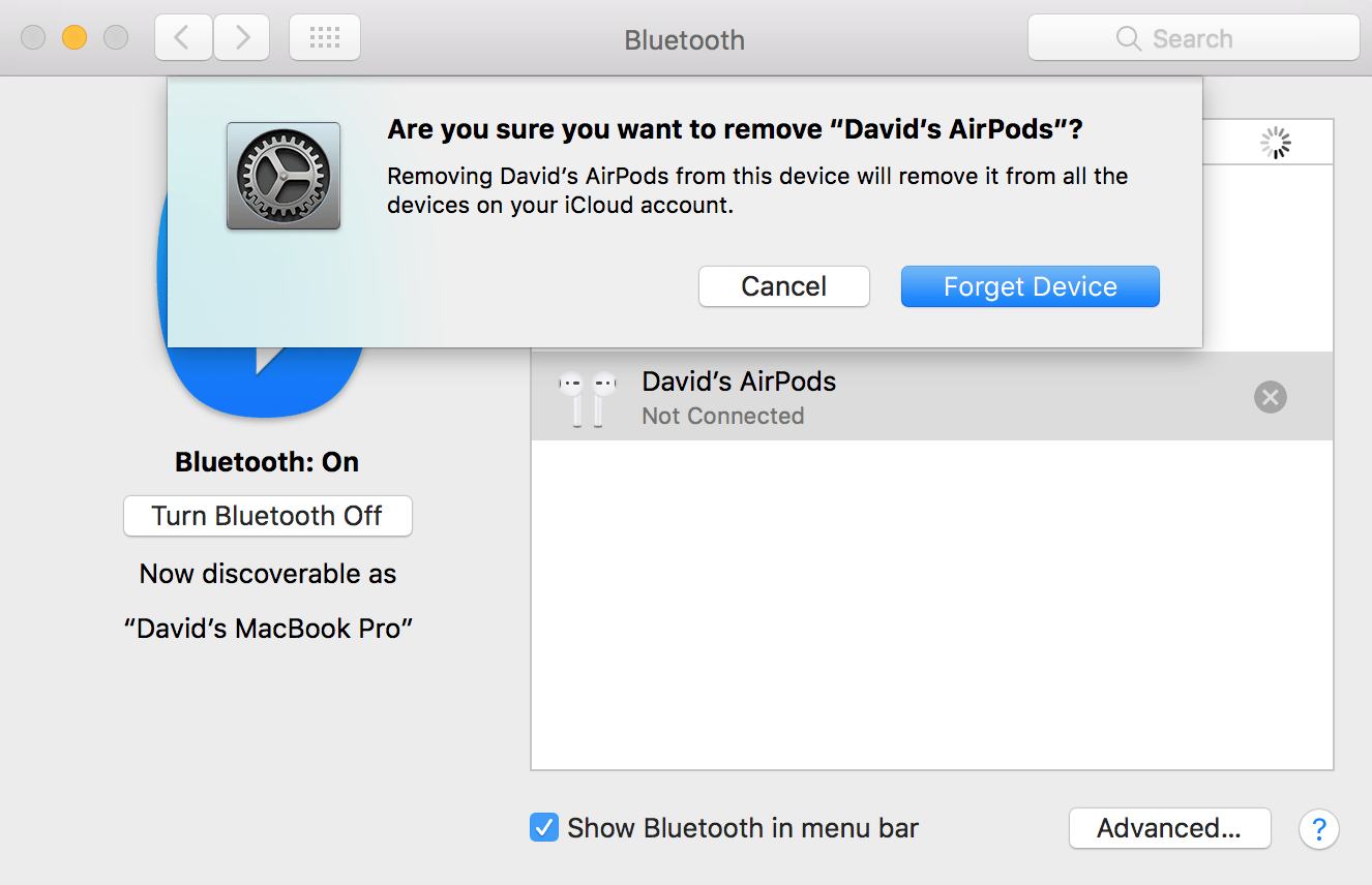 Forget Your AirPods As A Bluetooth Device On Mac | UpPhone