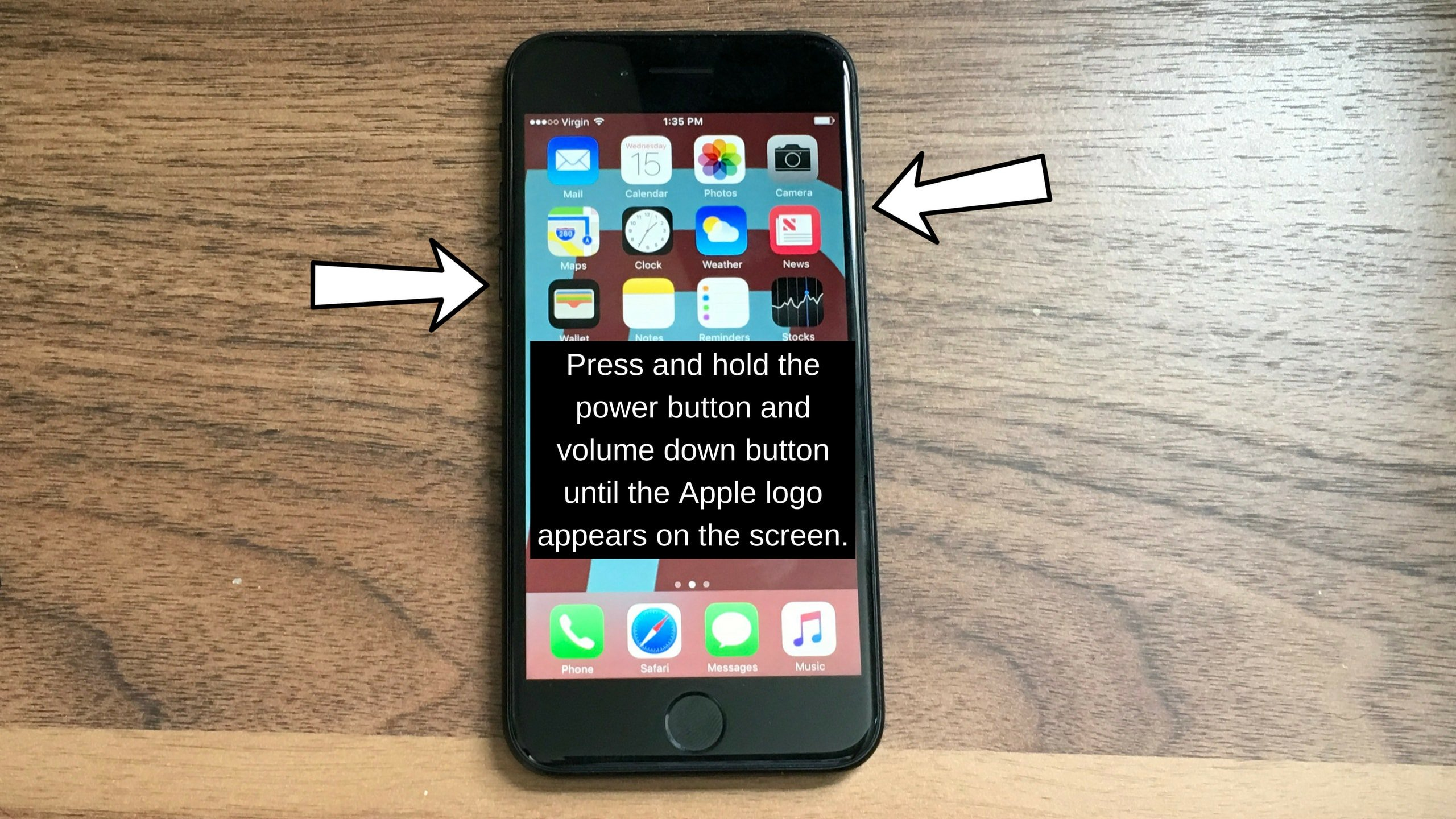 how to hard reset iphone 7 & 7 plus