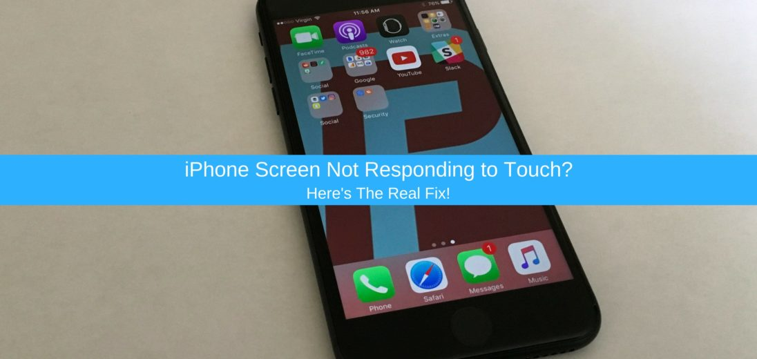 iPhone 7 Plus Screen Not Responding To Touch? Here's The Real Fix.