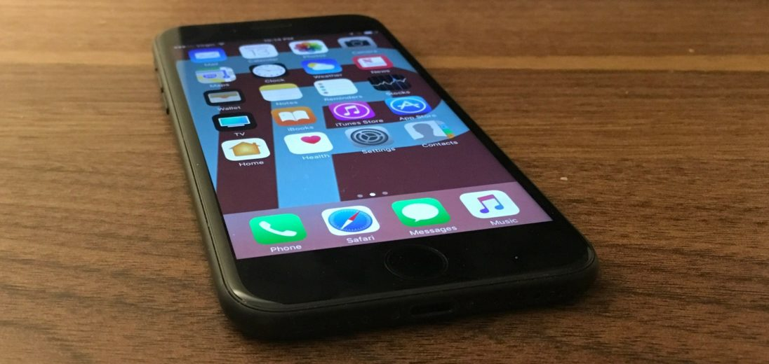 iphone 7 won't turn off