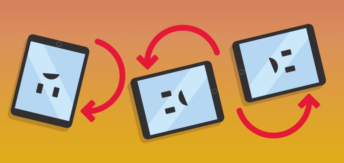 ipad not rotating fix