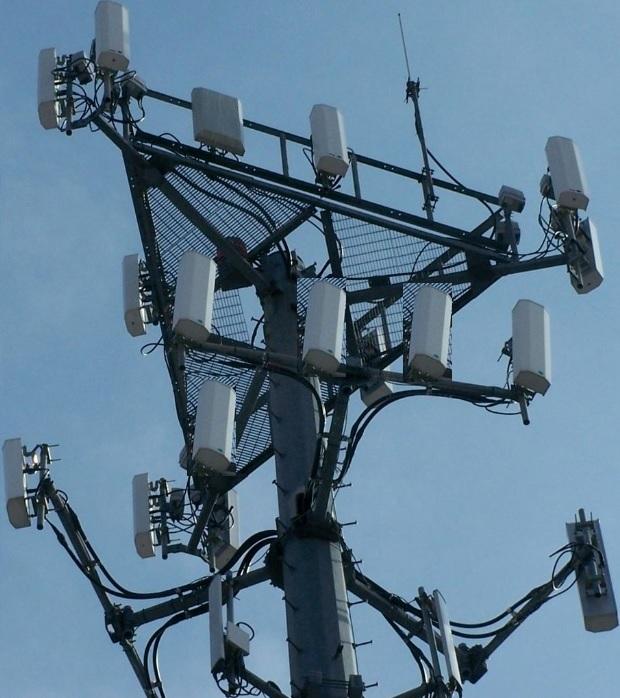 a 5G tower