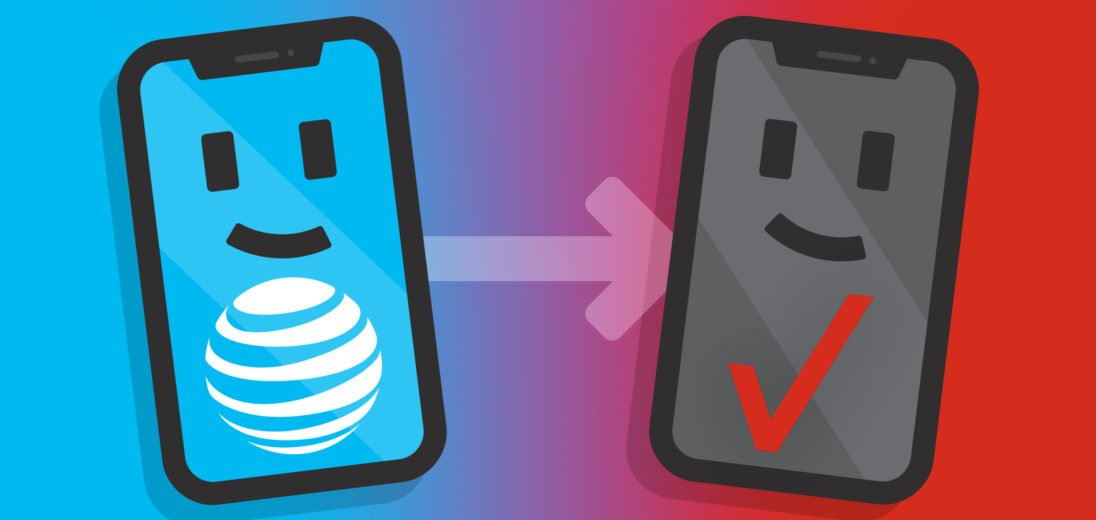 how to switch from att to verizon