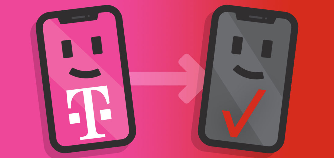 how to switch from tmobile to verizon